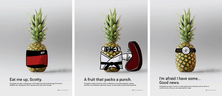 Matt Tanner, Pineapple, Ad Campaign, 2016