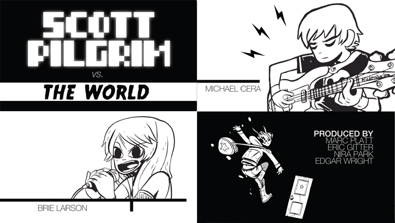 Angela Marini, Scott Pilgrim vs The World Title Sequence, 2015
