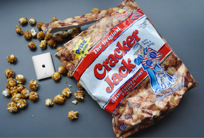 Found Contest: Imagine the Future of Cracker Jack Prizes